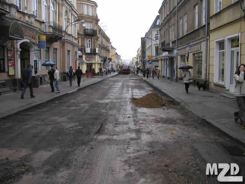 Oglądasz zdjęcia z artykułu: Ulica Sienkiewicza - Etap I