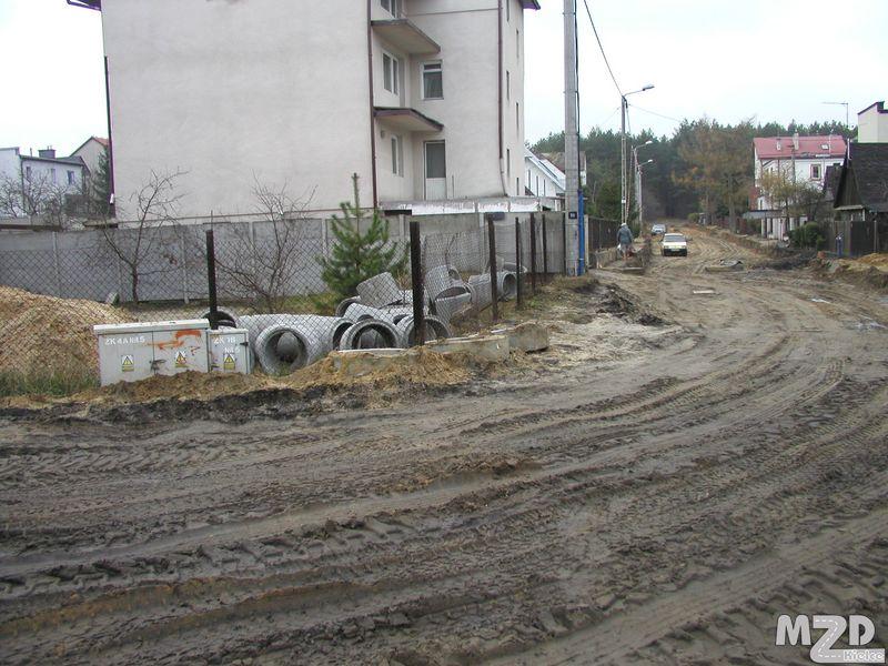 Oglądasz zdjęcia z artykułu: Przebudowa ul. Kordeckiego