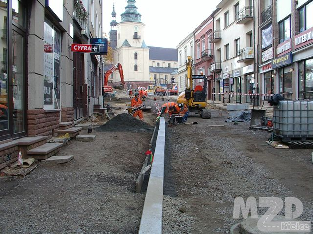 Oglądasz zdjęcia z artykułu: Rewitalizacja Śródmieścia Kielc - przebudowa płyty Placu Najświętszej Marii Panny i okolicznych ulic