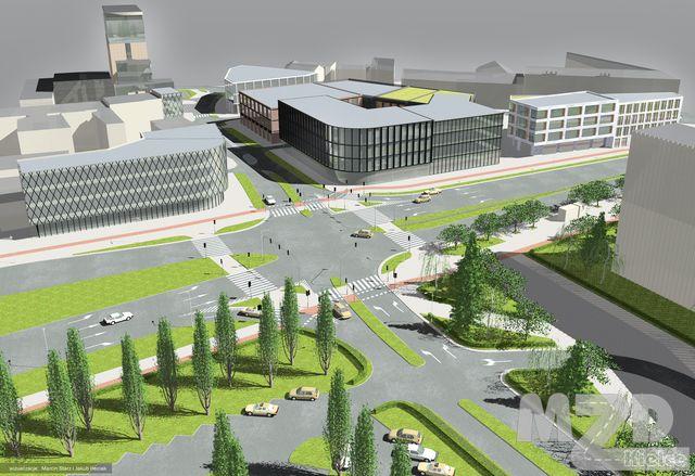 Oglądasz zdjęcia z artykułu: Rewitalizacja Śródmieścia Kielc - przygotowanie infrastrukturalne terenu pod śródmiejską zabudowę:..