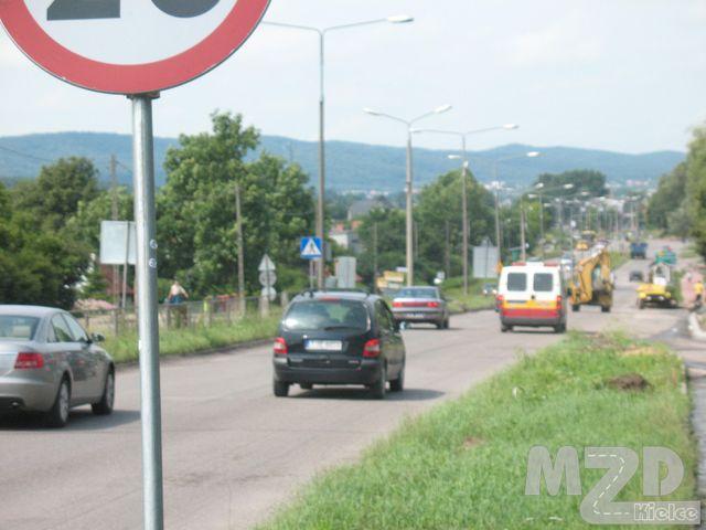 Oglądasz zdjęcia z artykułu: Przebudowa i rozbudowa drogi 762 - ul. Krakowska
