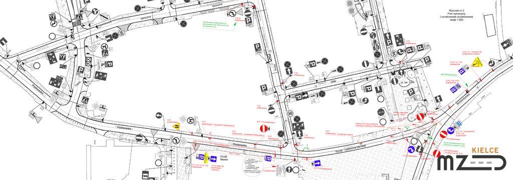 Oglądasz zdjęcia z artykułu: Zmiana organizacji ruchu na Rynku i okolicznych ulicach