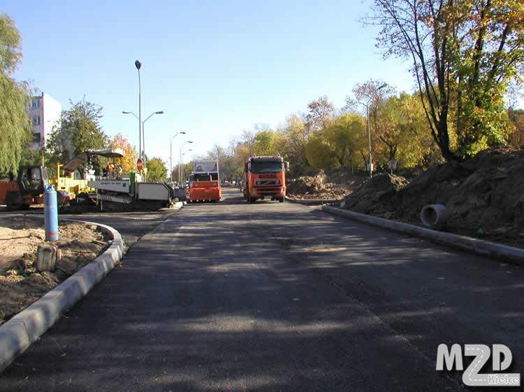 Oglądasz zdjęcia z artykułu: Przebudowa ul. Jesionowej