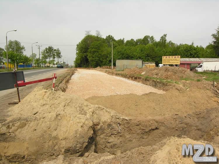 Oglądasz zdjęcia z artykułu: Przebudowa ul. Łódzkiej