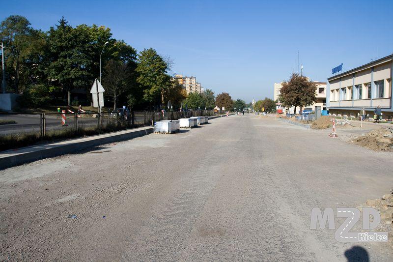 Oglądasz zdjęcia z artykułu: Przebudowa ul. Sandomierskiej