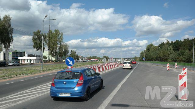 Oglądasz zdjęcia z artykułu: Rozbudowa ul. Ściegiennego w ciągu drogi krajowej nr 73 w Kielcach