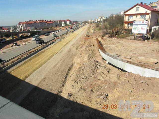 Oglądasz zdjęcia z artykułu: Zadanie 6 - Budowa bus-pasów w ciągu ul. Grunwaldzkiej i Al. Szajnowicza - Iwanowa